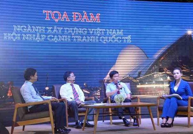 Toạ đàm 'Ngành xây dựng Việt Nam hội nhập cạnh tranh Quốc tế'